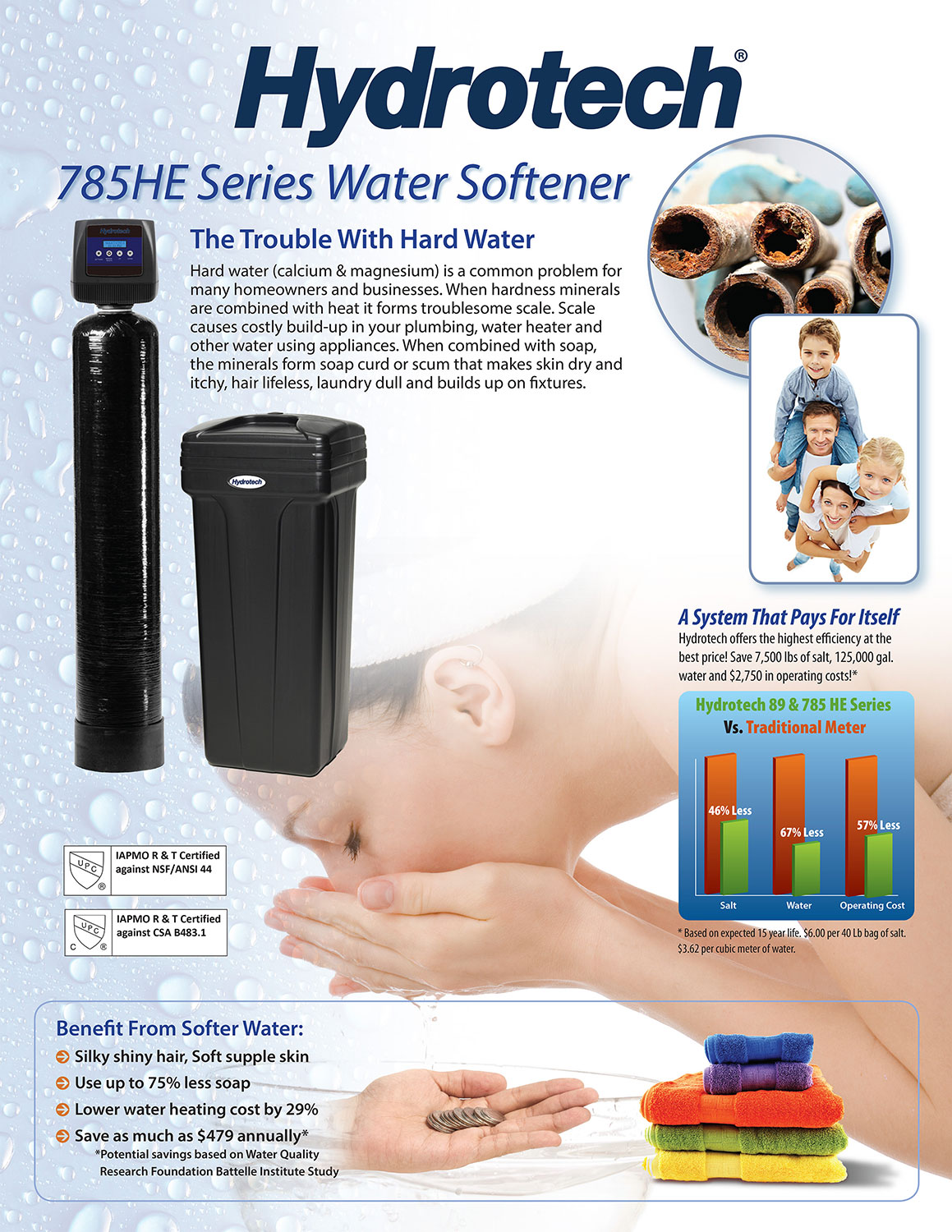 brochure Hydrotech water softener